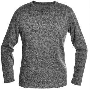 Men's Fleece-Lined Long-Sleeve Thermal Tops 4XL